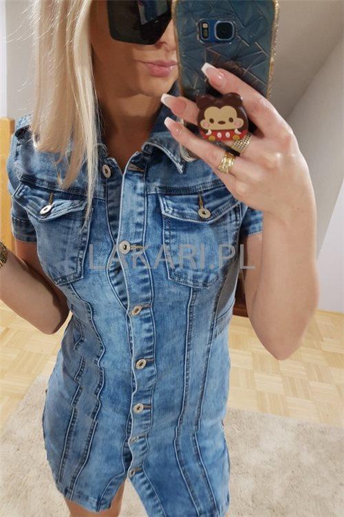 Sukienka K001 Luna Jeans r.S